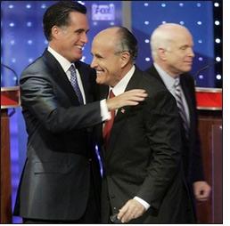 Romney, Giuliani ja McCain