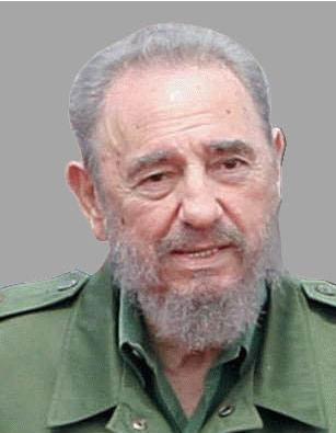 Fidel itse.