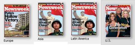 Newsweek lehden etusivuja-2