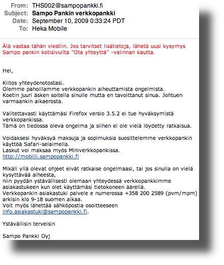 Sampo Pankki Ala Vastaa 2